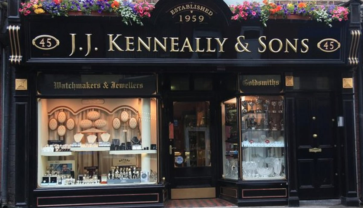 Kenneally Jewellers Wickham Street Limerick